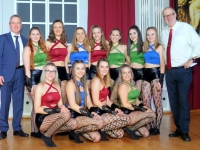WCC Dance Company nach der Mitternachtseinlage