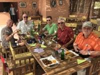 2020 02 13 Salzsee Rosa See sehr gutes Mittagessen direkt am See