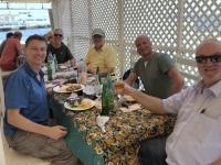 2020 02 14 Insel Goree sehr gutes Mittagessen