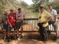 2020 02 15 Naturreservat Bandia Krokodile im Wasser