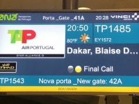 2020 02 10 Boarding in Lissabon