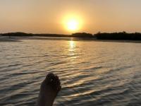 2020 02 11 Lagune Sonnenuntergang