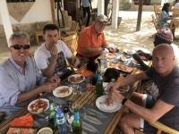 2020 02 12 Saloum Delta Mittagessen mit Shrimps