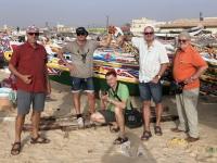 2020 02 13 Fischmarkt Gaya mit bunten hunderten Fischerbooten