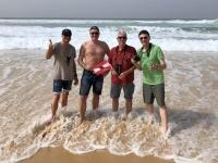 2020 02 13 Letzte Etappe der Rallye Dakar im Atlantik