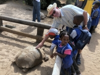2020 02 13 Schildkrötendorf Besuch mit Schulklasse