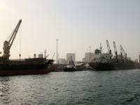2020 02 14 Ausfahrt im Hafen von Dakar