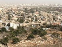 2020 02 14 Dakar Blick auf die riesige Stadt Dakar