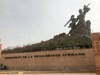 2020 02 14 Dakar Denkmal der afrikanischen Wiedergeburt