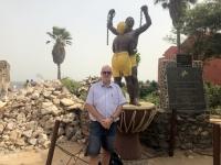 2020 02 14 Insel Goree Denkmal für Sklavenhandel