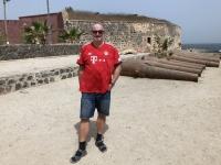 2020 02 14 Insel Goree Festung Estre mit Kanonen