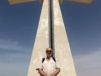 2020 02 16 Muschelinsel Kreuz am gemischten Friedhof