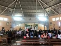 2020 02 16 Muschelinsel Sonntagsmesse in der Kirche
