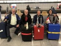 2020 02 17 Flughafen Wien_warten auf den Zug nach Linz