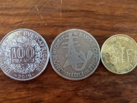 Senegal Währung CFA Franc BCEAO Münzen