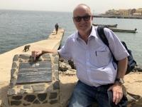 Senegal Insel Goree Sklaveninsel Tafel