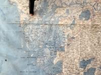 Senegal Nationalpark Delta du Saloum Karte