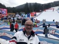 Zielhang im Slalom