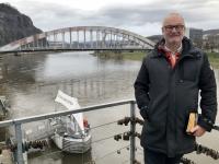 2020 03 03 Aussig Brücke Dr Edvard Benes über die Elbe
