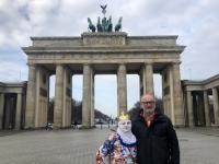 2020 03 04 Brandenburger Tor mit Pantomime