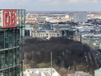 2020 03 05 Potsdamer Platz Blick auf Brandenburger Tor