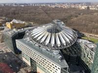 2020 03 05 Potsdamer Platz Sony Center von oben