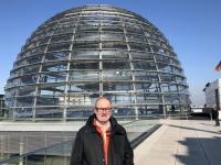 2020 03 05 Reichstag auf dem Kuppeldach