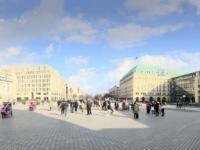 2020 03 04 Brandenburger Tor Blick nach Osten