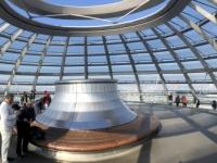 2020 03 05 Reichstag in der Kuppel ganz oben