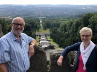 2020 07 04 Kassel Bergpark Blick vom Herkules über die Stadt