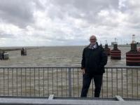 2020 07 05 Emden Seeschleuse Fluss Emse in die Nordsee