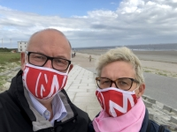 2020 07 05 Norderney Strandspaziergang