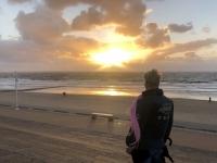 2020 07 06 Norderney Sonnenuntergang am Strand
