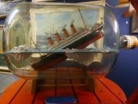 2020 07 07 Neuharlingersiel Budelschiff Museum Untergang der Titanic