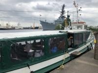 2020 07 07 Wilhelmshaven Hafenrundfahrt mit der Barkasse Grosse Freiheit