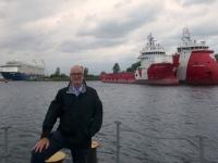 2020 07 07 Wilhelmshaven TUI Mein Schiff 5 liegt wegen Corona im Hafen