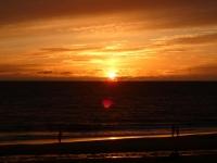 2020 07 08 Westerland auf Sylt Sonnenuntergang