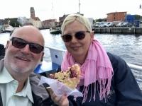 2020 07 11 Wismar Frühstück bei der Hafenrundfahrt