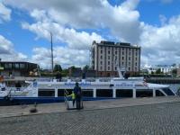 2020 07 11 Wismar Hafenrundfahrt mit dem Schiff Adler Hansestadt Wismar