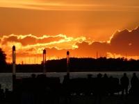 2020 07 11 Wismar toller Sonnenuntergang
