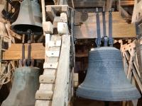 2020 07 12 Stralsund Glocken in den Marienkirche