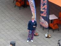 2020 07 12 Stralsund Jutta von der Marienkirchenspitze