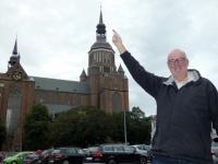 2020 07 12 Stralsund Marienkirche dort oben war ich nach 352 Stufen