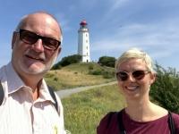 2020 07 14 Insel Hiddensee Leuchtturm Dornbusch