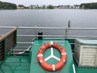 2020 07 15 Schifffahrt auf der Müritz Hafeneinfahrt in Waren