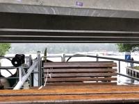 2020 07 15 Schifffahrt auf der Müritz niedrige Brücke