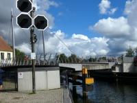 2020 07 16 Malchow Drehbrücke geht auf