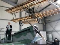 2020 07 16 Rechlin Luftfahrt Techn Museum Fokker D VII mit Jutta