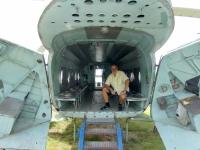 2020 07 16 Rechlin Luftfahrt Techn Museum Mil Mi 8 Sowjetische Luftarmee offenes Heck