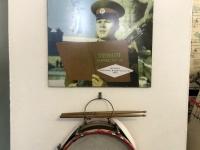 2020 07 16 Rechlin Luftfahrt Techn Museum Sowjetische Militärkapelle Trommel